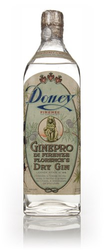 Doney & Nipote Florentine Dry Gin - 1933-44
