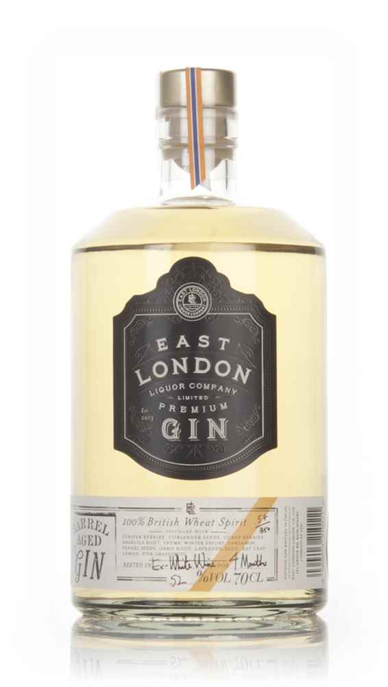 East London Liquor Company Barrel Aged Gin - Ex-White Wine Cask