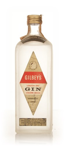 Gilbey's London Dry Gin - 1949-59