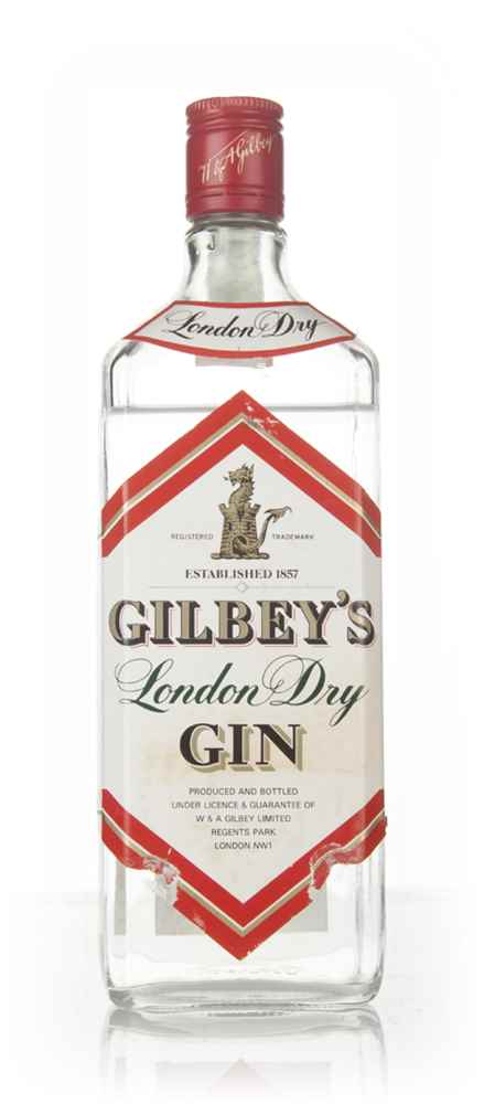 Gilbey's London Dry Gin - 1980s