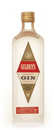 Gilbey's London Dry Gin - 1970s