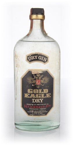 Gold Eagle Dry Gin - 1970s