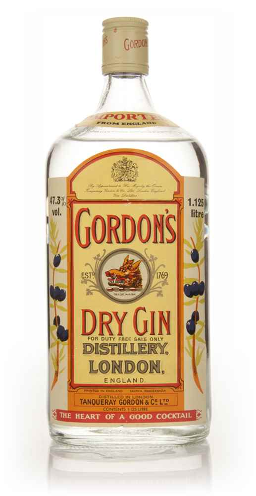 Gordon's London Dry Gin 1.125l - 1970s