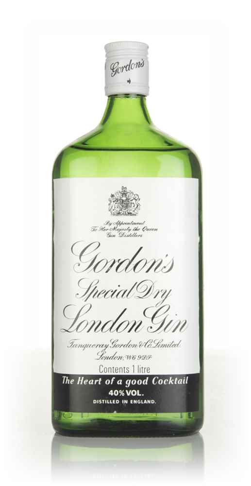 Gordon's Special Dry London Gin (1L) - 1980s