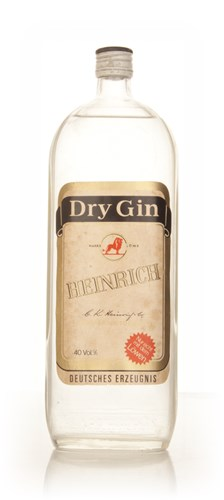 Heinrich Dry Gin - early 1970s