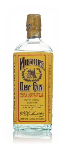 Milshire Dry Gin - 1970s