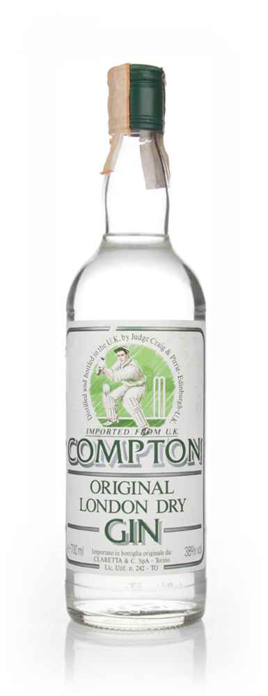 Compton Original London Dry Gin - 1980s