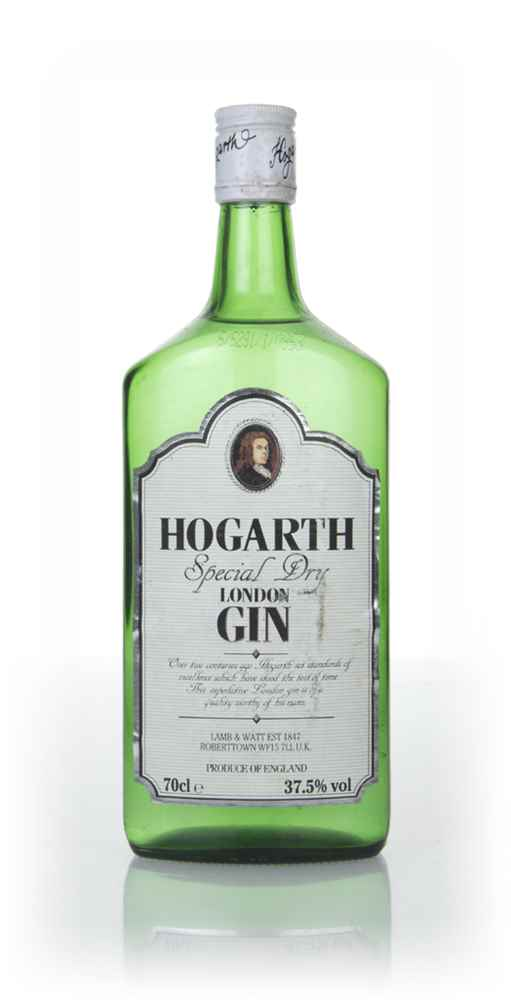 Lamb & Watt's Hogarth Special Dry London Gin - 1960s