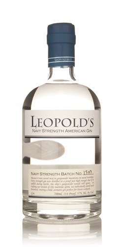 Leopold's Navy Strength American Gin