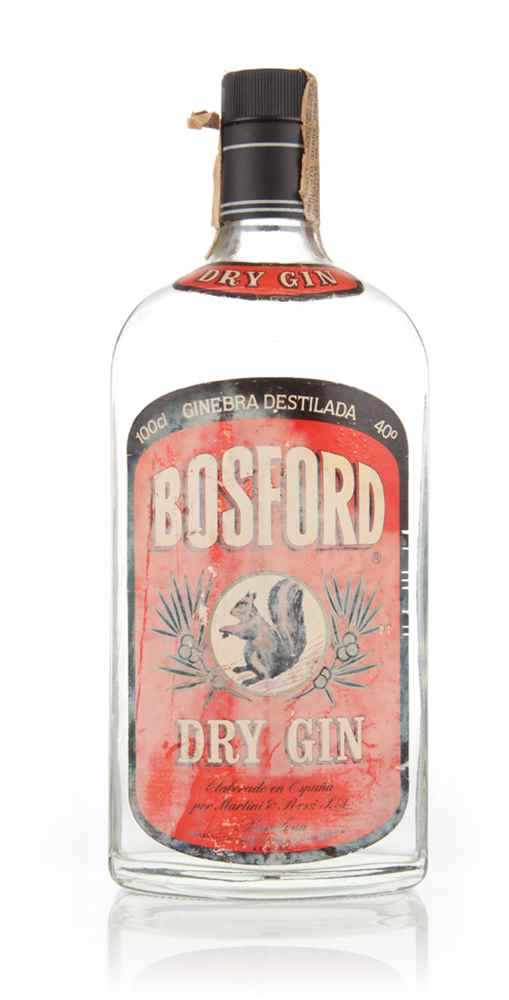 Bosford Dry Gin (40%) - 1960s