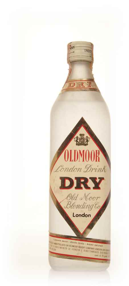 Oldmoor London Dry Gin - 1970s