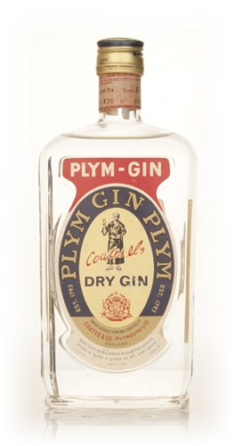 Plymouth Dry Gin - 1960s