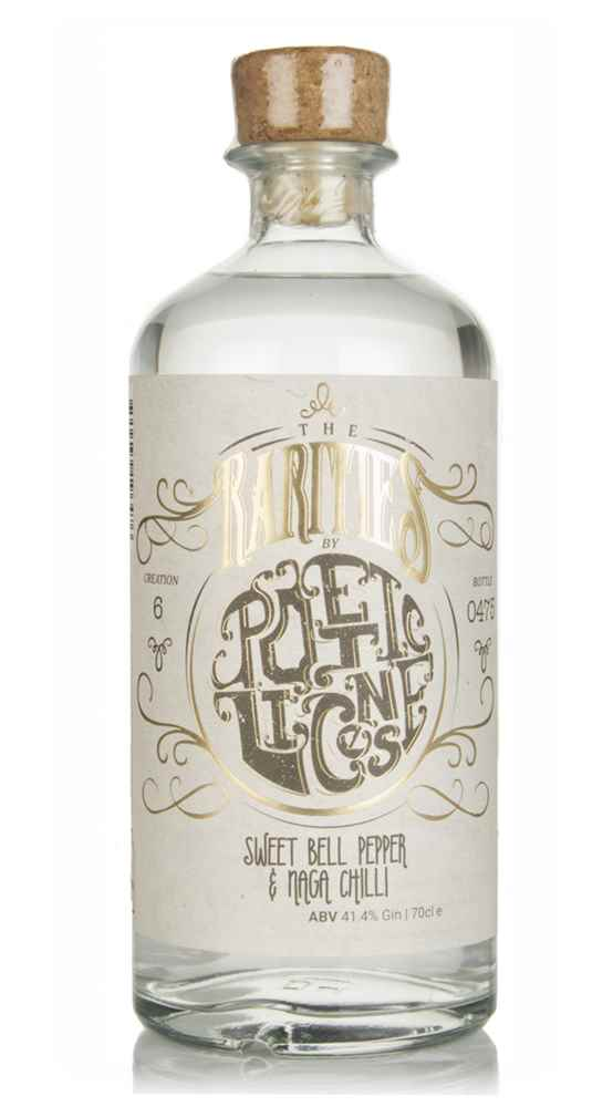 Poetic License Sweet Bell Pepper & Naga Chilli Gin