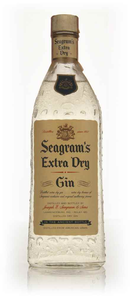 Seagram's Extra Dry Gin - 1960s