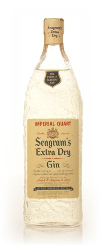 Seagram's Extra Dry Gin 1.14l - 1960s