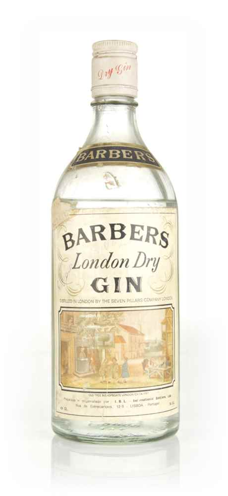 Seven Pillars Barbers London Dry Gin