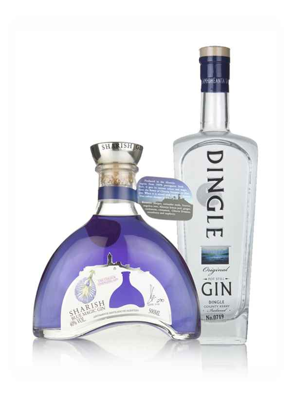 Sharish Blue Magic and Dingle Original - Gin Twin Bundle