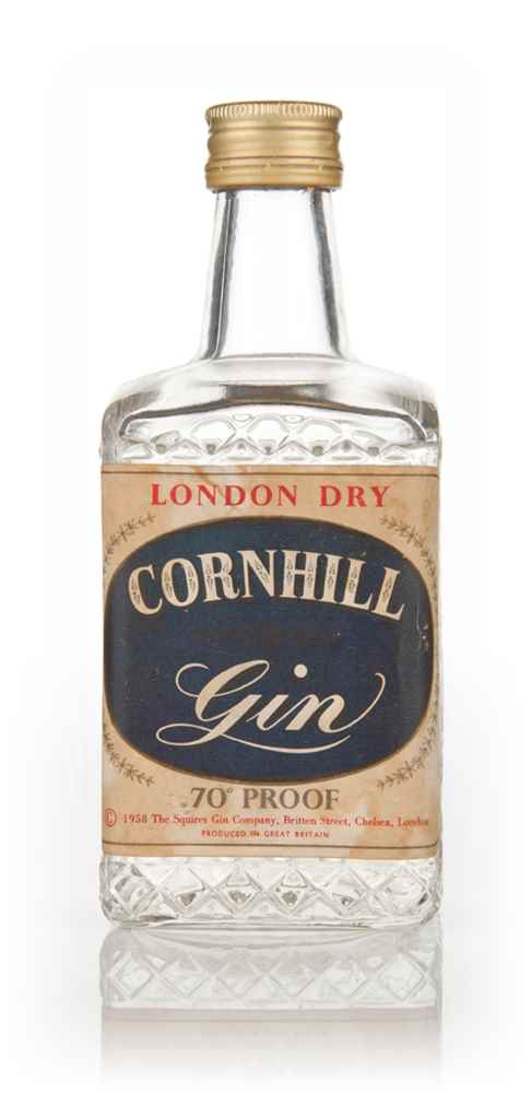 Cornhill London Dry Gin - Late 1950s/Early 1960s