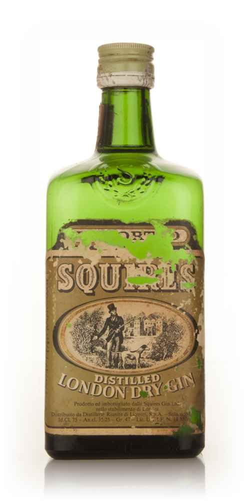 Squires London Dry Gin - 1960s