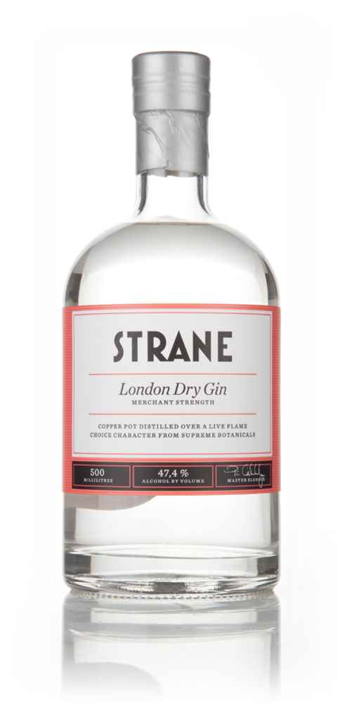 Strane London Dry Gin - Merchant Strength