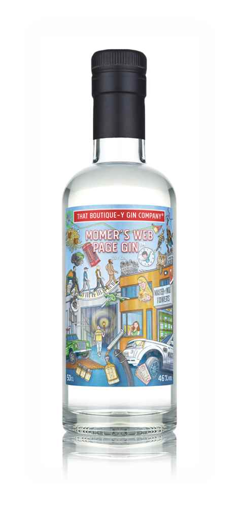MoMer's Web Page Gin - That Boutique-y Gin Company (Master of Malt)