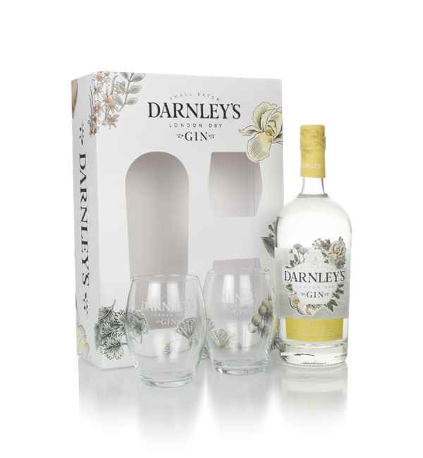 Darnley's Gin Gift Pack with 2x Glasses