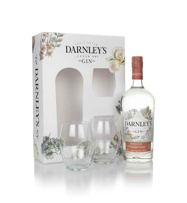 Darnley's Spiced Gin Gift Pack with 2x Glasses