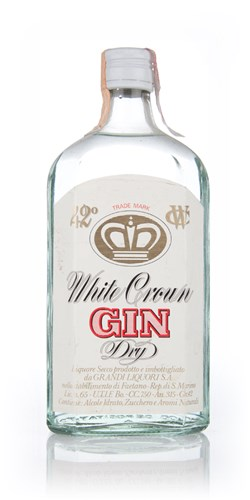 White Crown Dry Gin - 1970s