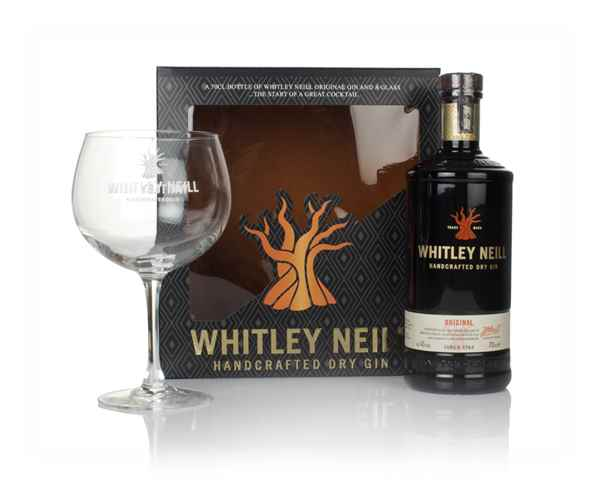 Whitley Neill Original Gin Gift Pack with Glass