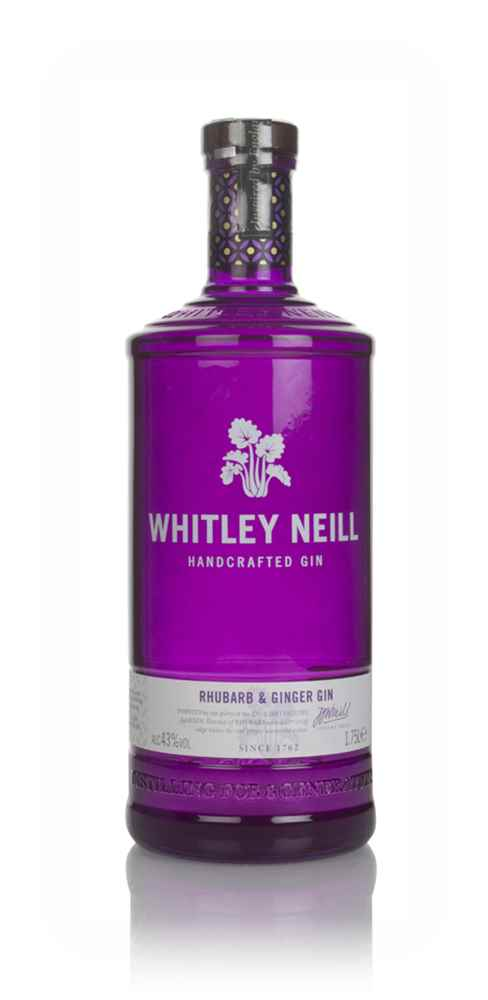 Whitley Neill Rhubarb & Ginger Gin (1.75L)