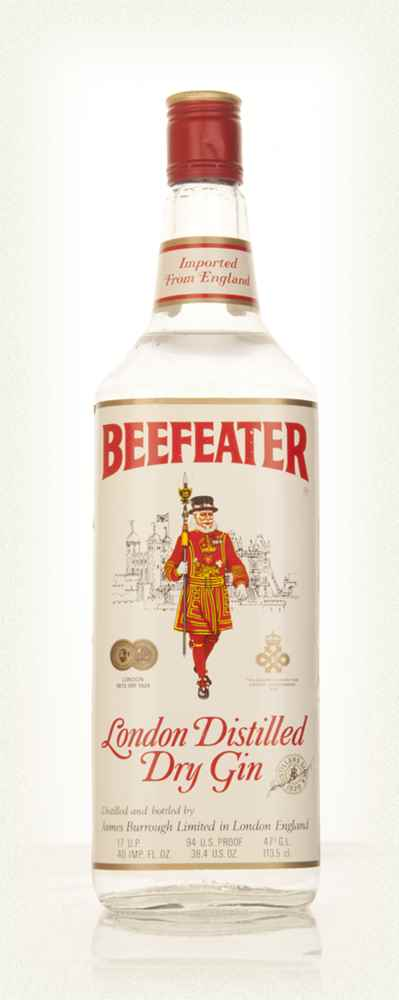 Beefeater London Dry Gin 113.5cl - 1970s
