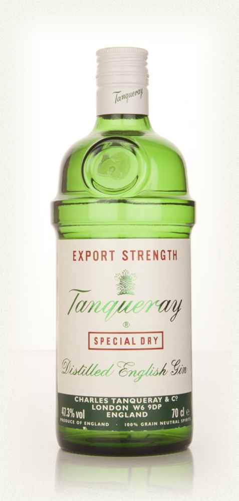 Tanqueray Export Strength - 1980s