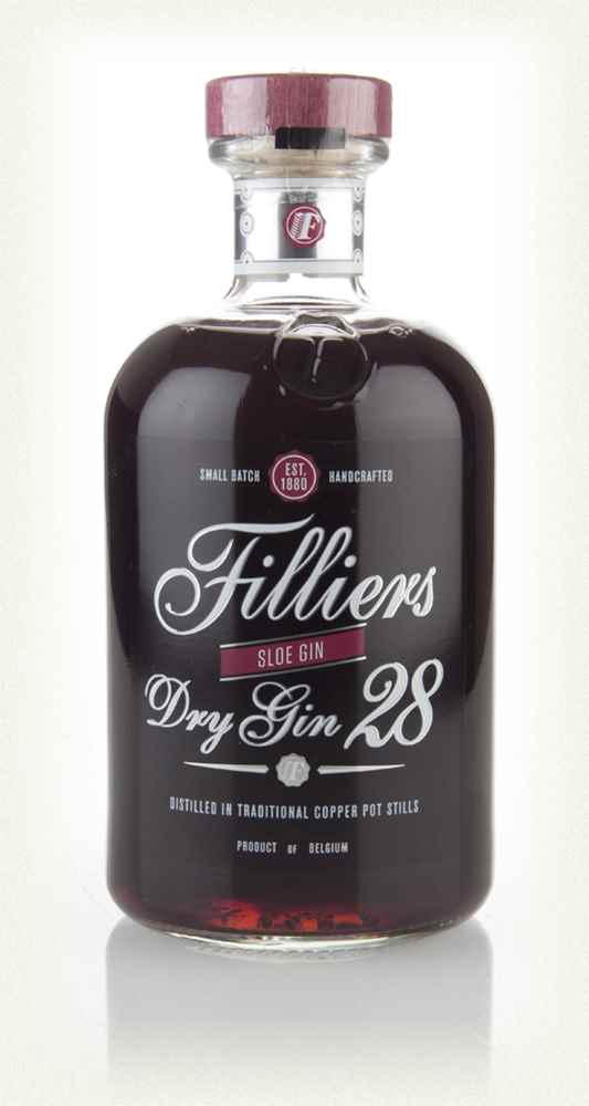 Filliers Dry Gin 28 - Sloe Gin 2013
