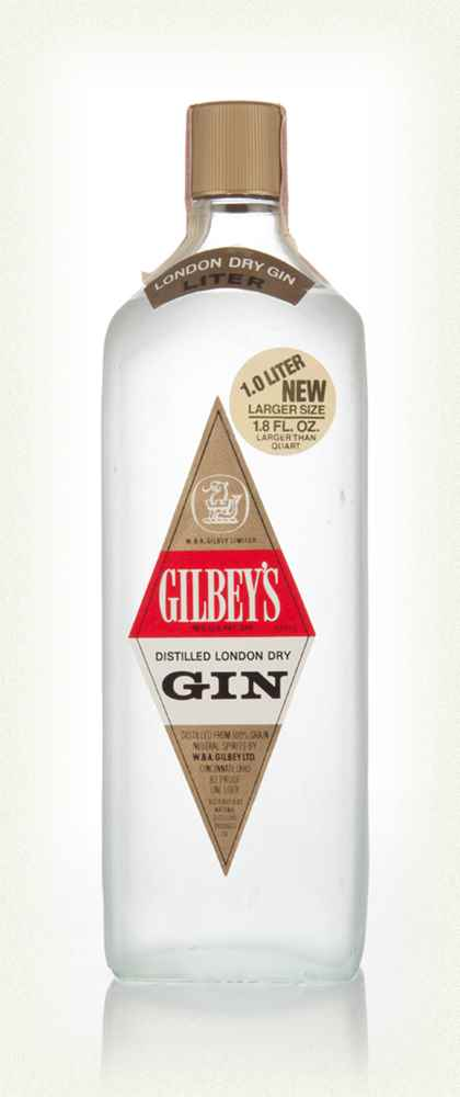 Gilbey's London Dry Gin - 1960s
