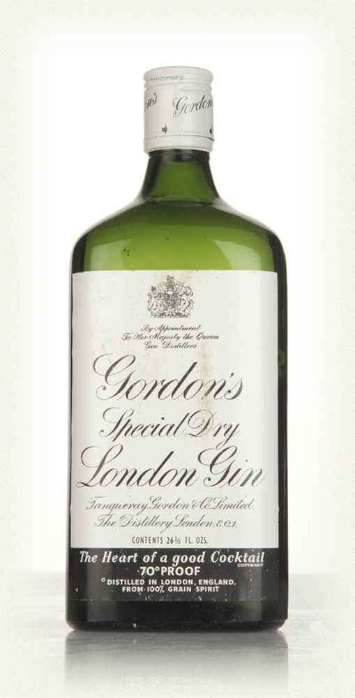 Gordon's Special Dry London Gin - 1970s