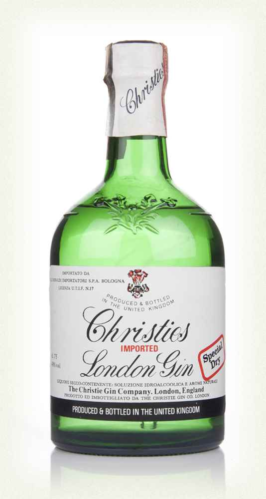 Christie's London Dry Gin - 1970s