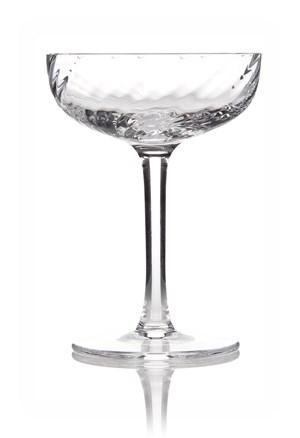 Atlantic Spiral Tasting Coupe Glass