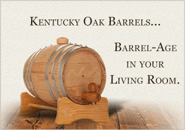 American White Oak Toasted Barrels