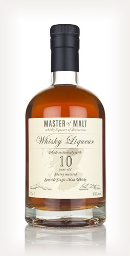 e6e0c31007f Master of Malt 10 Year Old Speyside Whisky Liqueur (70cl