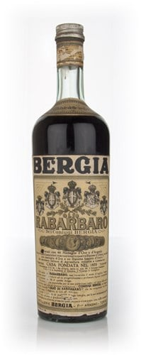 Bergia Olio Rabarbaro - 1960s (Black and White)