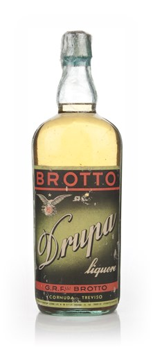 Brotto Drupa Liqueur - 1940s
