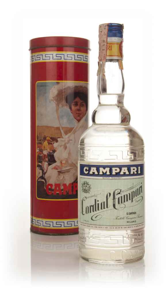 Campari Cordial (with Presentation Tin) - 1970s