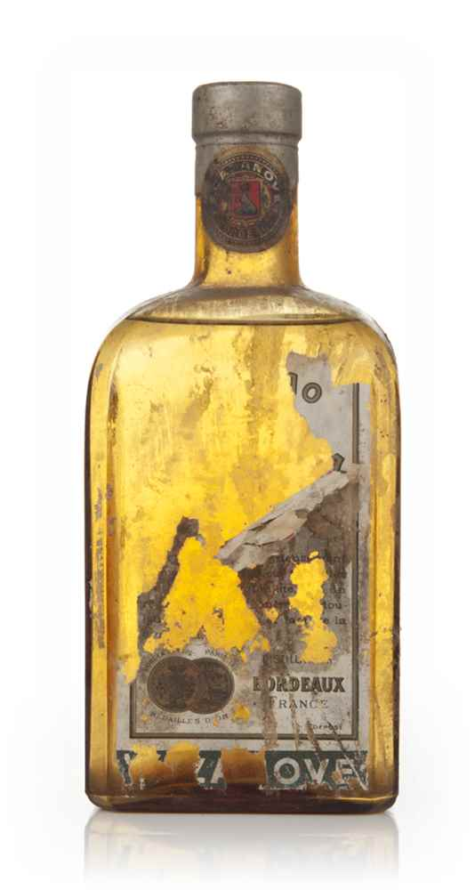Cazanove Curaçao Triple Sec (Brown Bottle) - 1950s