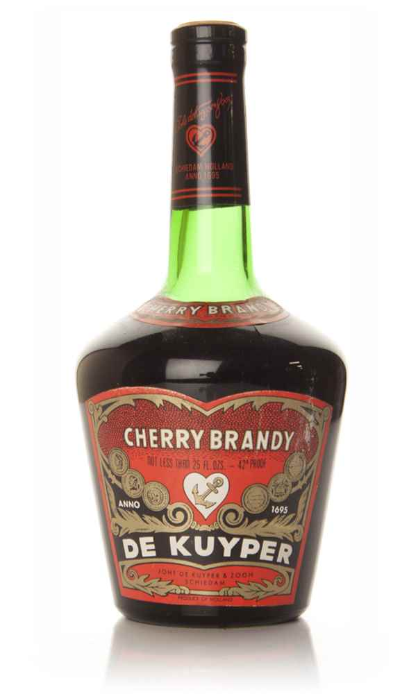 De Kuyper Cherry Brandy - 1970s