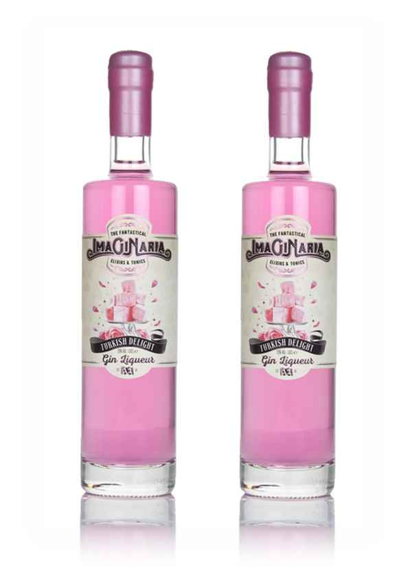 Imaginaria Turkish Delight Gin Liqueur - Gin Twin Bundle