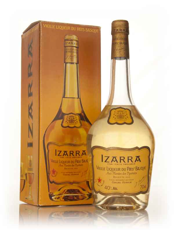 Izarra Yellow with box - 1970s