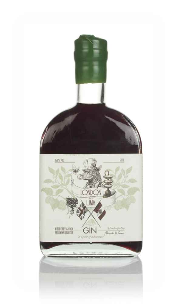 London to Lima Mulberry & Coca Gin Liqueur