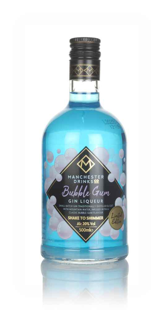 Manchester Drinks Co. Bubble Gum Gin Liqueur