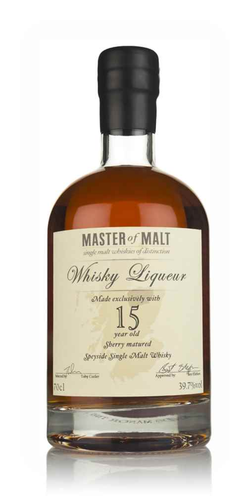 Master of Malt 15 Year Old Speyside Whisky Liqueur