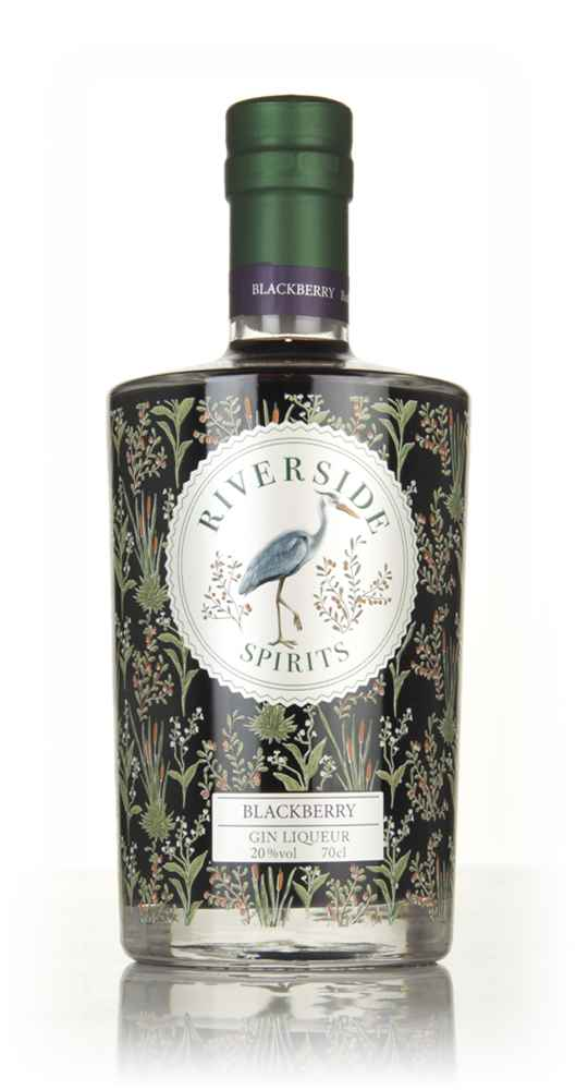Riverside Blackberry Gin Liqueur